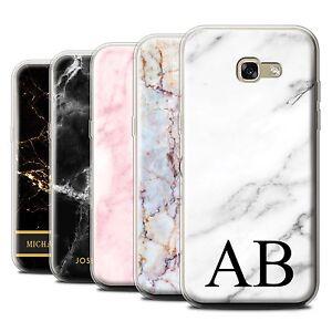 sale retailer 9cb36 dc169 Détails sur Personnalisé marbre étui protecteur pour Samsung Galaxy A5  (2017) / initiale couverture personnalisée- afficher le titre d'origine