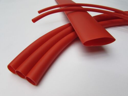 "1.0/"" Red Heat Shrink Tube 3:1 Dual Wall Adhesive Glue Line Marine//to 1 FOOT"