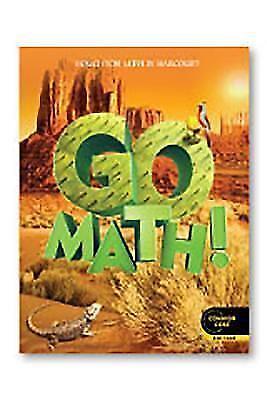 GO MATH! Student Edition Grade 5 Common Core Edition Book ...