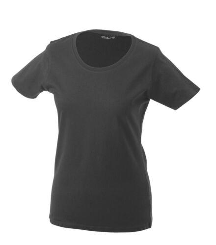 XXL James /& Nicholson Damen Kurzarm T-Shirt verschiedene Farben und Größen S