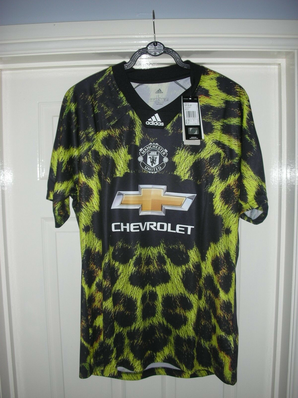 Manchester United EA Sports Adidas Shirt, Groot