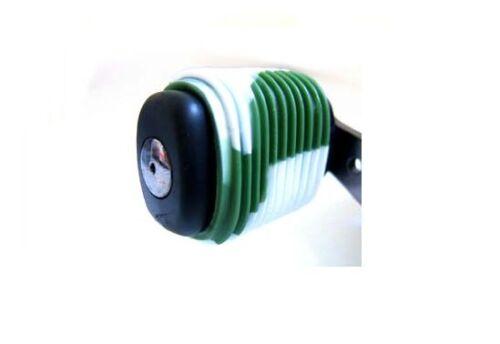 Green//White Reel Grips