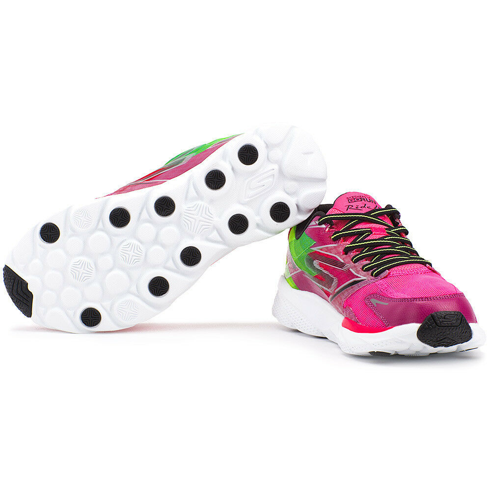 NEW Damenschuhe FUCHSIA SKECHERS GORUN RIDE 4 PERFORMANCE LACE UP FUCHSIA Damenschuhe GREEN SNEAKER 13998 e8077a