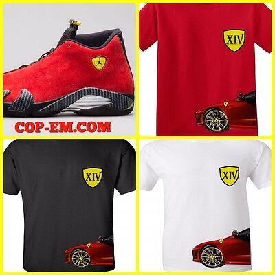 Jordan 14 Ferrari Yellow Shirt Shop Clothing Shoes Online
