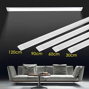 30-60-90-120CM-LED-luz-de-techo-Liston-Tubo-Slim-10W-40W-Lampara-Fluorescente-Bar