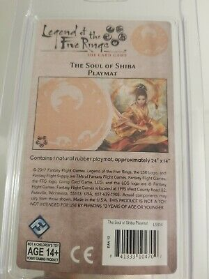 Legend of the Five Rings LCG The Soul of Shiba Phoenix Clan Playmat//Mouse Pad