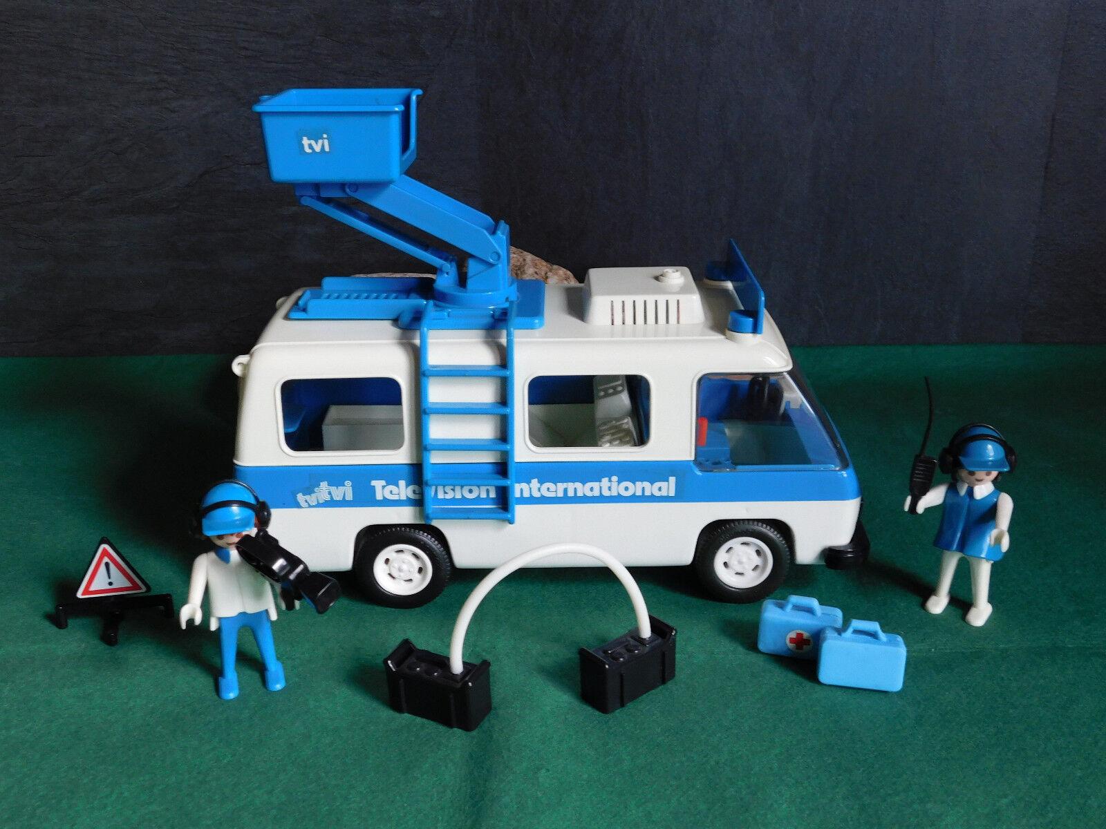 Playmobil Rarität TV-Aufnahmewagen 3530-A 1979 III ohne OVP