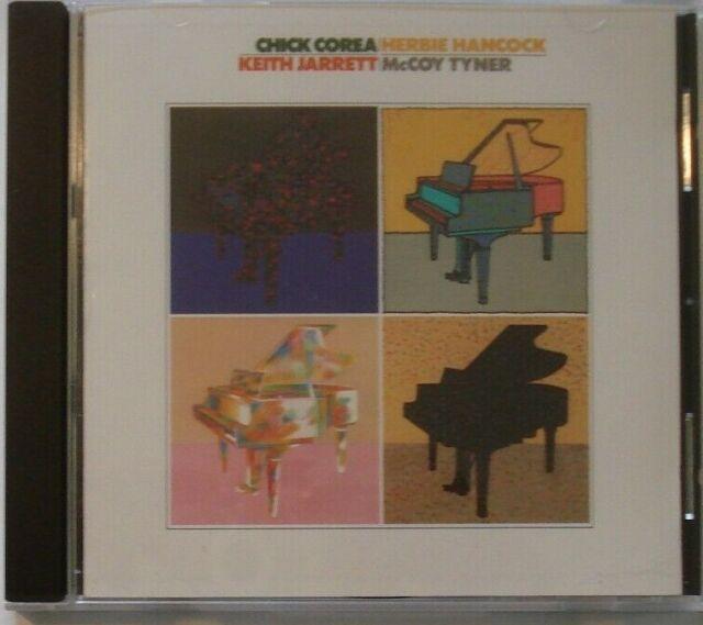 CD - Chick Corea - Herbie Hancock - Keith Jarrett - McCoy Tyner - Atlantic Jazz