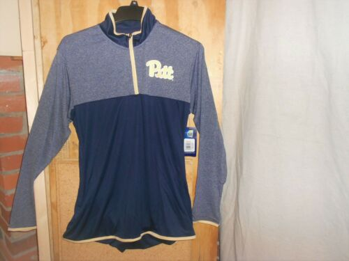 Details about  /Pitt Panthers Mens ProEdge 1//4 Zip Pullover Shirt Size 2XL-100/% Polyester-NWT-#7