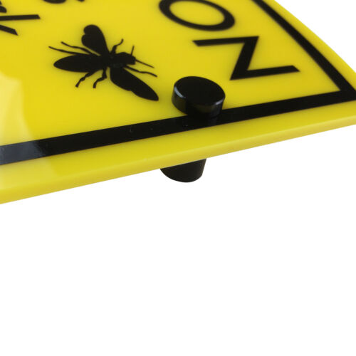 BEE KEEPING Warning Sign /'Bees at work/'water /& weather proofFREE SHIPPING
