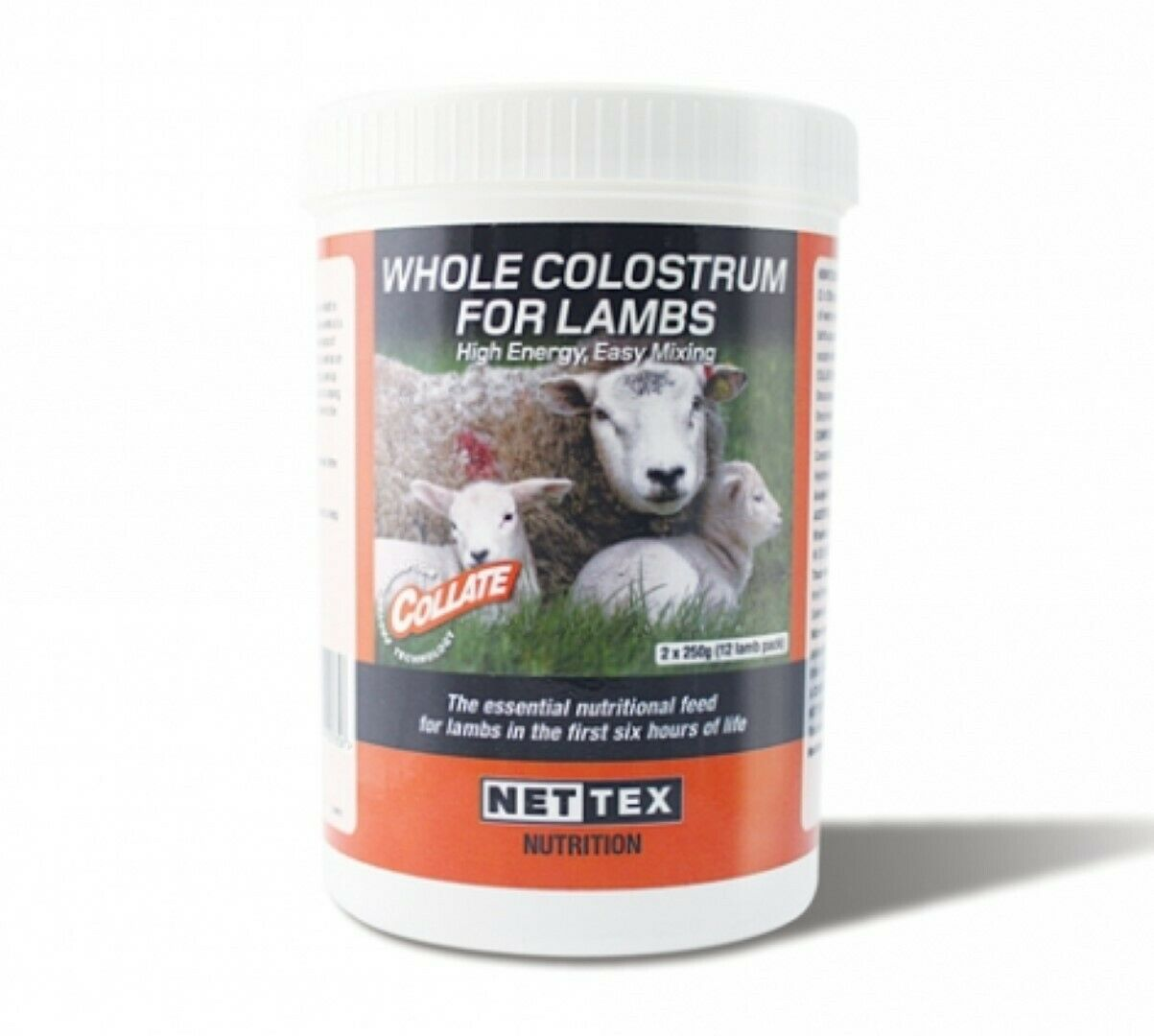 Whole Colostrum For Lambs Collate High instant Energy 10 x 40g