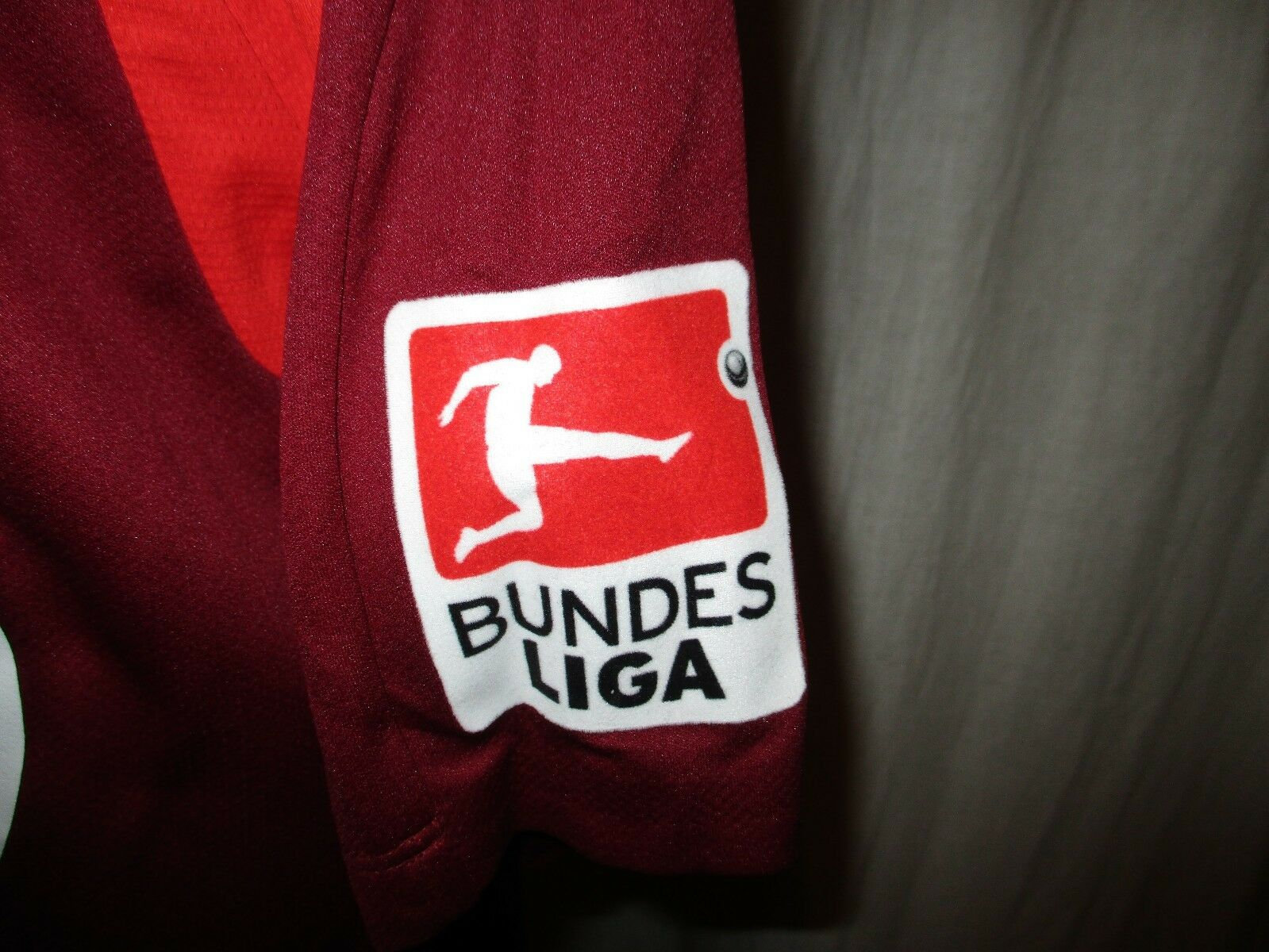 Hannover 96 Jako Heim Matchworn Sulejmani Trikot 2013/14