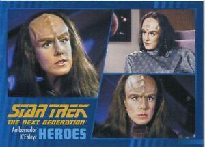 Star Trek TNG Heroes /& Villains Parallel Base Card #44