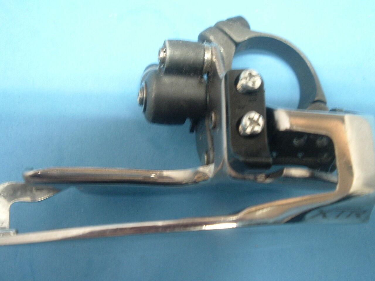 Shimano XTR M950 NEW NOS MTB Front Derailleur Vintage-31.8MM-TP TS-7 8-Spd Mint