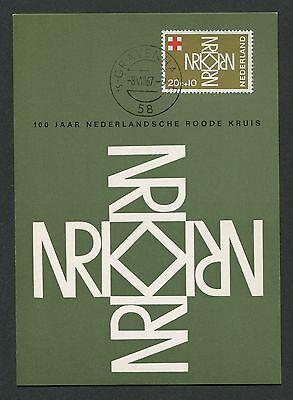 Organizations Niederlande Mk 1967 Rotes Kreuz Red Cross Maximumkarte Maximum Card Mc Cm D1354 Superior Performance Stamps