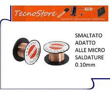 BOBINA DI FILO SMALTATO RAME 0.1mm RIPARAZIONE PISTE PCB CIRCUITI ENAMELED WIRE