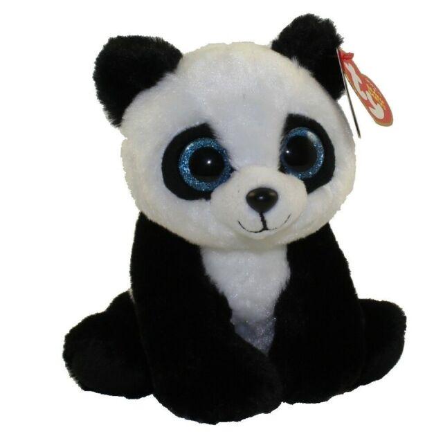 Baboo Panda Beanie Babies Original Ty stuffed animal Plush figure 8