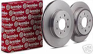 FOR IMPREZA FORSTER WRX TURBO FRONT BREMBO BRAKE DISCS 295MM  X2