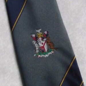 Vintage-Tie-Mens-Necktie-COAT-OF-ARMS-CRESTED-FSB