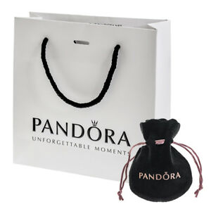 e48d02b0426c Image is loading Genuine-PANDORA-Charm-Pouch-Gift-Bag-Mixed-Packaging-