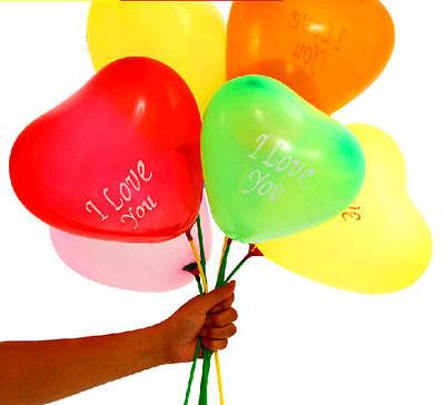 New 50/100Pcs Heart-Shaped Latex Balloons Home Wedding Party Birthday Decor