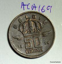 50 centimes cts 1968 ??  BELGIE BELGIQUE BELGIUM aca169