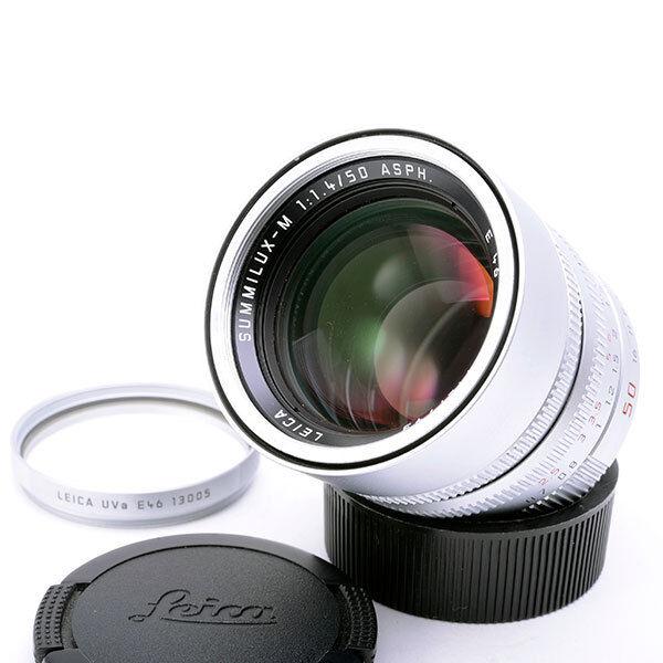 Leica SUMMILUX-M 50mm f/1 4 Aspherical Lens (Silver)