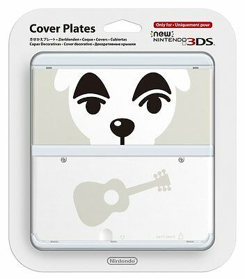 New Nintendo 3DS Cover Plates No.041 Animal Crossing Japan