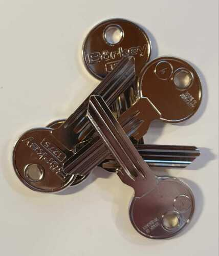 5x für BKS Schließanlage Anlage Börkey 1275//4 Rohling Sonderprofil Keyblank