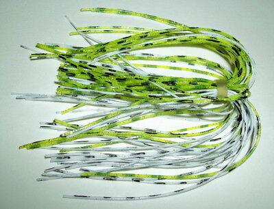 "-Bass Fishing-/""NEW/"" 5 Starflash Custom Silicone Spinnerbait Skirts- Silver"