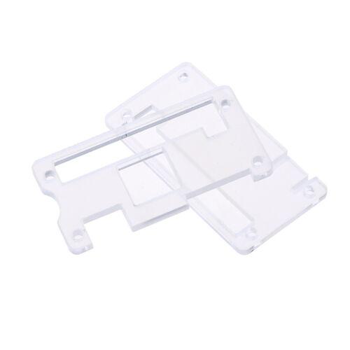 Transparent black acrylic protector cover case for raspberry pi zero TDO