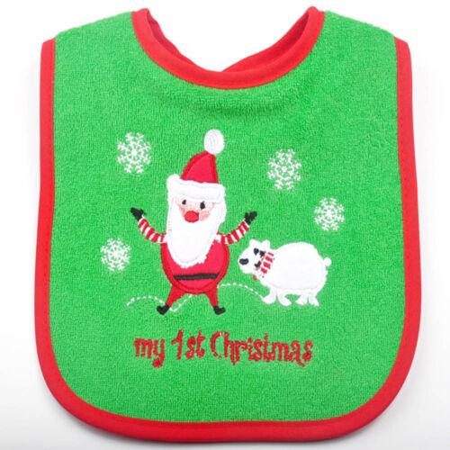 Baby Bandana Lätzchen Santa Claus Kleinkind Speichel Bär Weihnachtsgeschenk