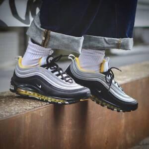 hot sales 48f49 0500c La imagen se está cargando Nike-Air-Max-97-negra-amarilla-921826-008-