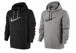 Nike-Logo-Big-Swoosh-Hoodie-Herren-Kapuzenpullover-Sweatshirt-Pullover-Hoody