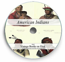 Rare Books on DVD - Native North American Indians History Culture Art Battles A1
