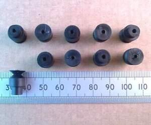 Qty-10-10mm-Diameter-Plastic-Belt-Pulley-2mm-Model-Electric-Motor-Mini-Pully