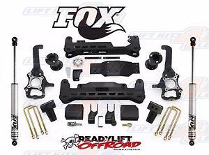 Fox Suspension Lift Kits >> Readylift 7 Full Suspension Lift Kit W Fox 2 0 Shocks For 2015 19