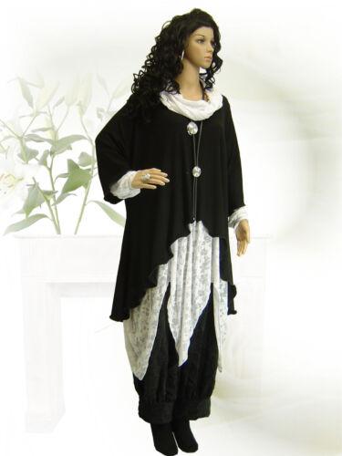 Long xl xxxl Design Tunika L Poco Overlay Überwurf xxl Wellen Lagenlook shirt TtqWzH