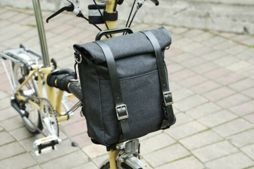 Brompton Front Bag Bike Backpack Messenger Bag Bicycle Bag Roll-Top Bag Frame