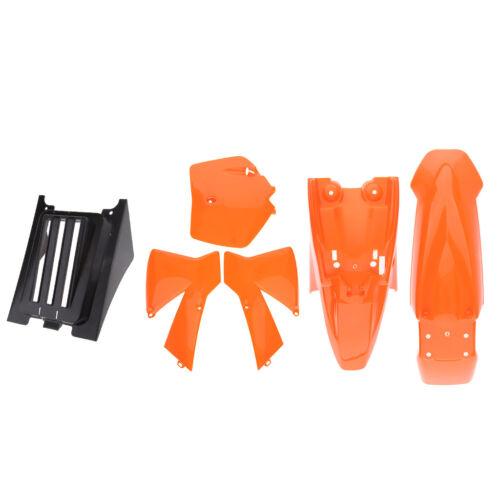 Orange Plastics Kit For KTM50 Mini Senior Adventure Junior Bike