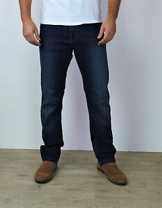 Men-039-s-Ex-M-amp-S-Straight-Fit-Jeans-Casual-Regular-Water-Resistant-W28-W50