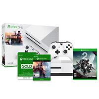 Microsoft Xbox One S 500GB Console Battlefield 1 Bundle + Destiny 2 + Xbox Live 3 Month