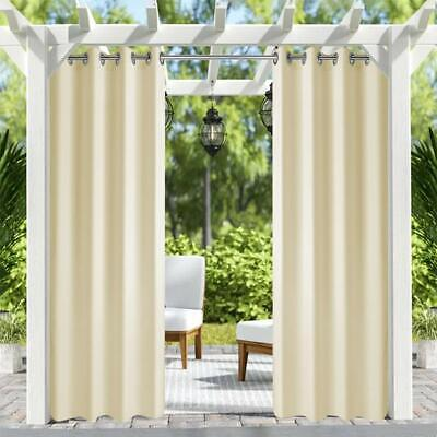 Patio Outdoor Curtain Uv Privacy D, Outdoor Waterproof Curtains Patio