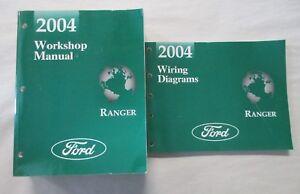 2004 FORD RANGER SERVICE SHOP REPAIR MANUAL & WIRING ...