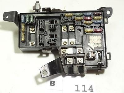 1990-1993 HONDA ACCORD cover lid engine fusebox FUSE BOX OEM d10