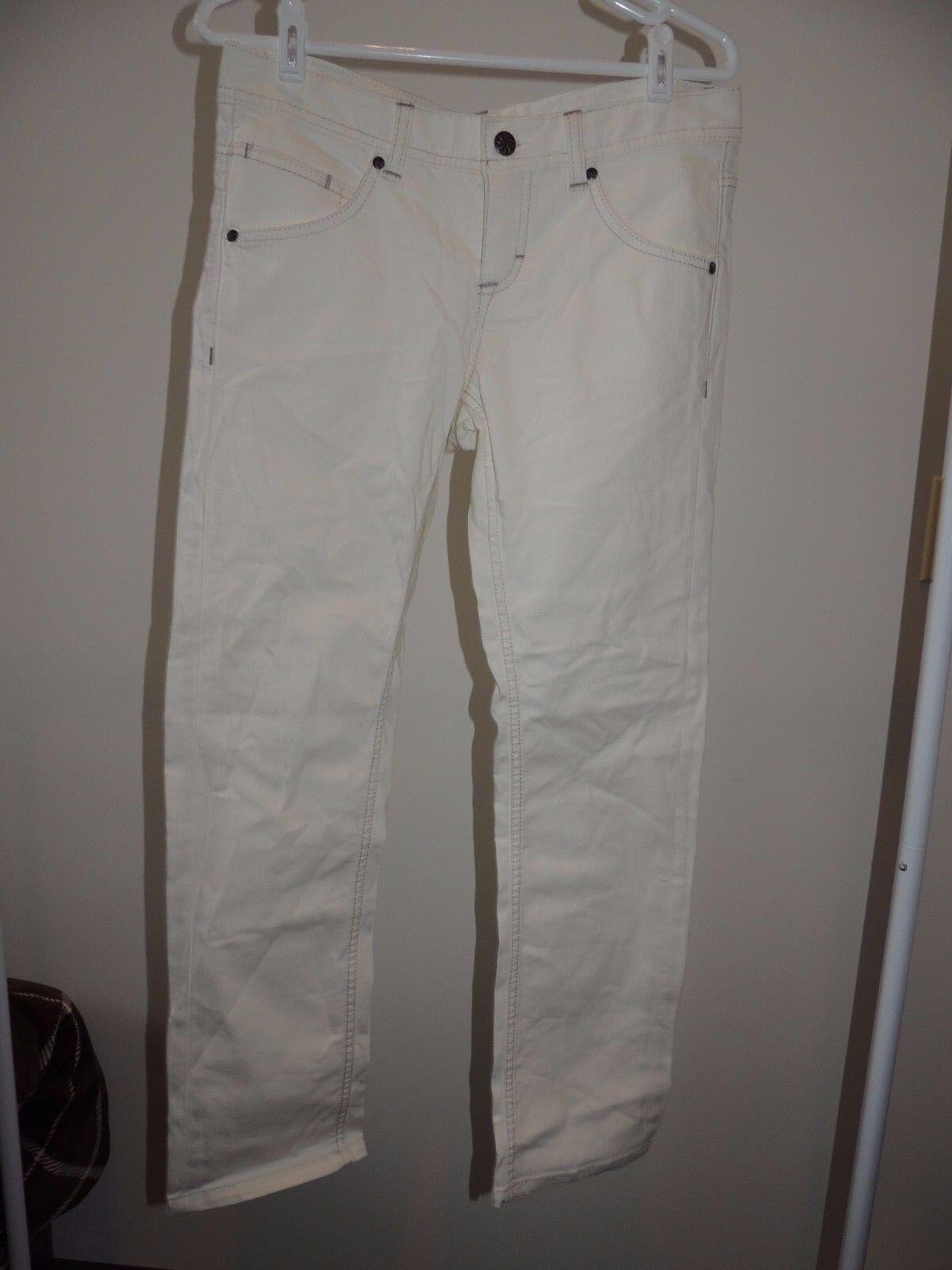 Womens Size 8 T  ATHLETA  White Denim Frontier Jean NWOT  Jeans T9