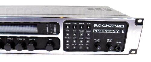 Rocktron Prophesy II 4Channel Tube Guitar Preamp Effects 1.5 Jahre Garantie