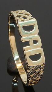 9-Carat-Yellow-Gold-DAD-Ring-Size-Z-9CT-80-20-057