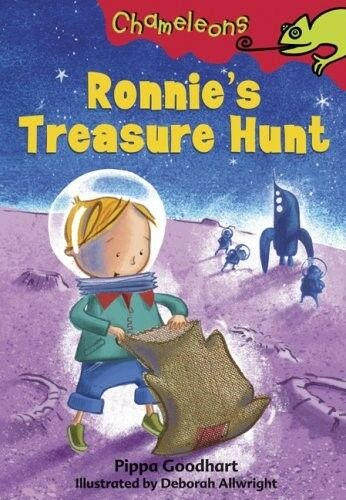 Excellent, Ronnie's Treasure Hunt (Chameleons), Pippa Goodhart, Book
