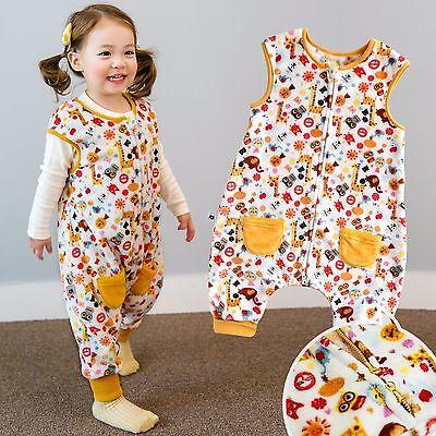 "Buy Cheap Vaenait Baby Toddler Kids Girls Ultra Soft Sleepsack ""mf.yellow Zoo Park"" 1t-7t"